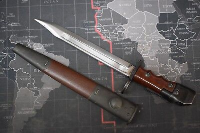 British No. 7 Mk. I/L Swivel Pommel Bayonet Fighting Knife