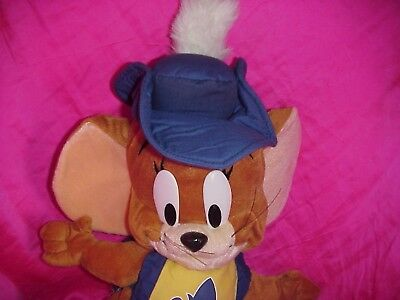 "19"" Tom & Jerry Mouse Musketeer Plush Figure Doll Toy"