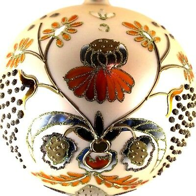 """WATERFORD Large Holiday Heirlooms """"Irish Splendor"""" Master Piece Collection Ball"""