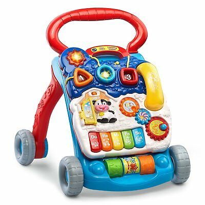 Toddler Sit to Stand Learning Walker Baby Toy Interactive Learning Developing