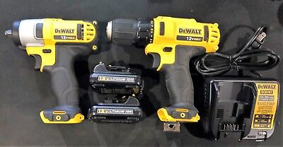 DEWALT DCF813S2  Compact Impact Wrench Kit  & DCD710 Drill/Driver (NEW)