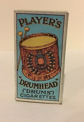 """WW1 - John Player's & Sons - """"Drumhead"""" - Cigarette Pack & Card - Reproduction"""