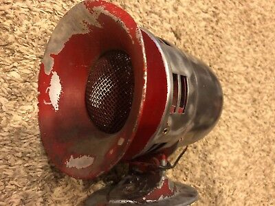 Antique Federal Sign and Signal 12v Siren Fire Police Model