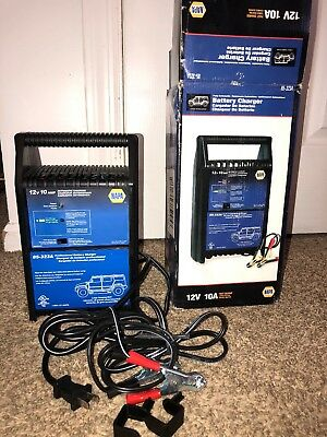 Napa 12V 10A Battery Charger & Starter 85-323A New Large Car SUV-🌟1lb Ship🌟