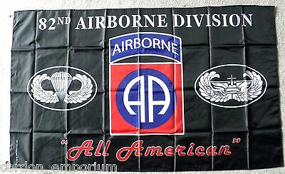 Us Army 82Nd Airborne Division Flag 3 X 5 Feet Polyester