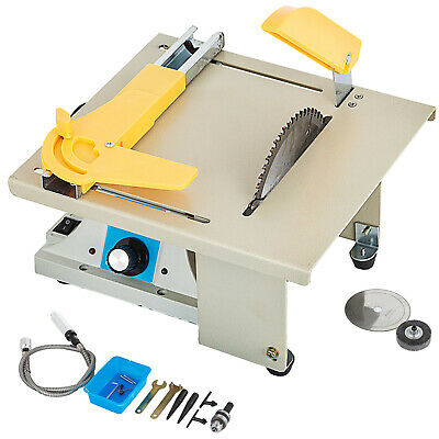 Benchtop Table Saw Cutting Polishing Carving Machine Accurate Woodworking Gem