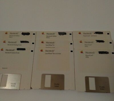 LOT OF 60 Apple Macintosh System OS 7 5 7 1P6 3 5 Floppy