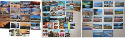 66  AFRICA postcards unsent 4x6 #38 NAMIBIA South Africa SENEGAL