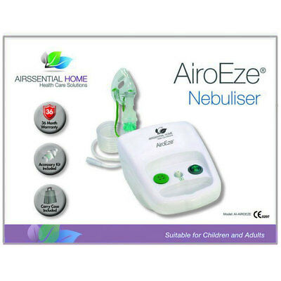 Airssential Home Airoeze Nebuliser Accessory Kit Included Suitable For All Ages