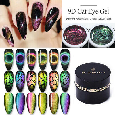BORN PRETTY 5ml 5D Cat Eye Magnetic Soak Off UV Gel Polish Nail Art Gel Varnish