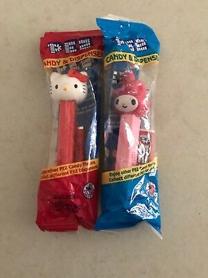PEZ Dispenser Hello Kitty and My Melody