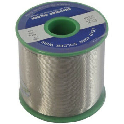 Lead Free Silver Solder Wire 0.7mm size 500g Melts 227°C