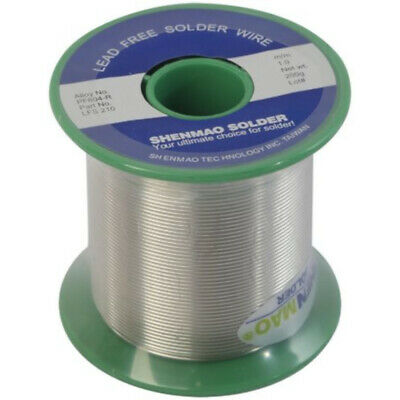 1.0mm 200g No Pb Type Lead Free Silver Solder Wire