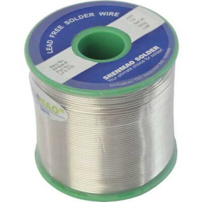 Lead Free Silver Solder 500g Wire 1.0mm  uses natural rosin core flux