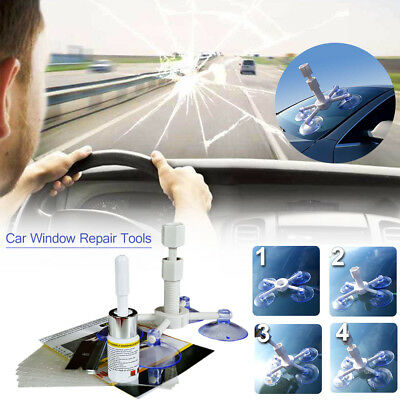 Crack Glass Scratch Repair Kit Windshield DIY Car Window Windscreen Repair Tool