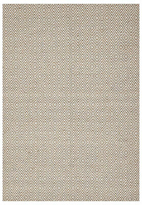 NEW Natural Jute Diamond Modern Flatweave Rug - Network,Rugs