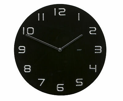 NEW Degree Chrome Numbers Clock 35 cm - Degree Clocks,Clocks