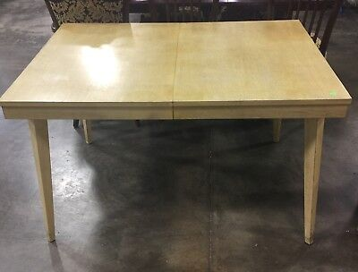 Mid Century Modern Dining Table —blends well With WEST ELM Decor
