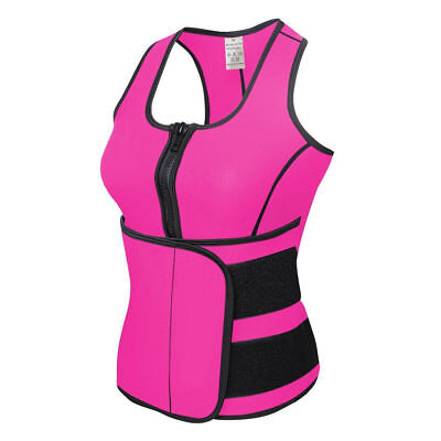 Women Sauna Thermo Shaper Sweat Waist Trainer Belt Slimming Vest Comfort Corset