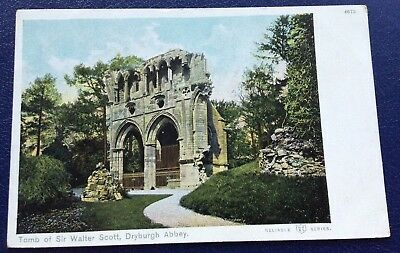 Postcard: Tomb Of Sir Walter Scott: Dryburgh Abbey: Un Posted
