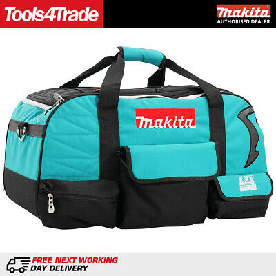"Makita LXT400 22"" / 600mm Heavy Duty Contractor 4 Piece Tool Bag 831278-2"