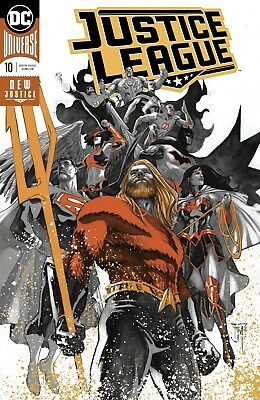 Justice League #10 Foil (Drowned Earth) Dc Comics Near Mint 10/17/18