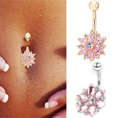 Fake Piercing Attractive Nice Dance Navel Belly Button Rings Umbilical Nail Body