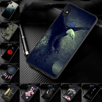 For Xiaomi Mi 8 A2 Lite A2 A1 6X New Painted Slim Soft Silicone TPU Case Cover