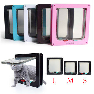 Cat door The Kitty Pass Interior Cat Door Small Pet Dog Door Hidden Litter Box