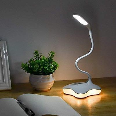 XIAOKOA LED Desk Lamp, Eye Protection Study Reading Lamp with Night Light and 3