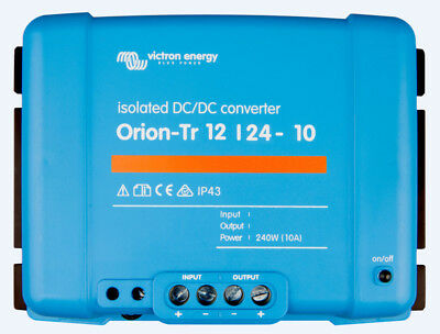 Victron Energy Orion-Tr 12/24-10A (240W) Isolated DC-DC - ORI122424110