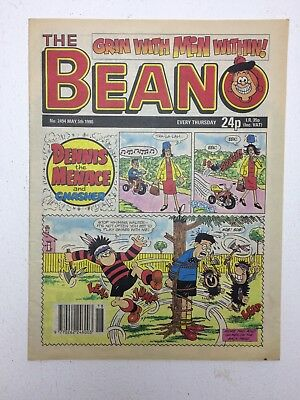 The Beano UK Paper Comic  No. 2494 May 5 1990
