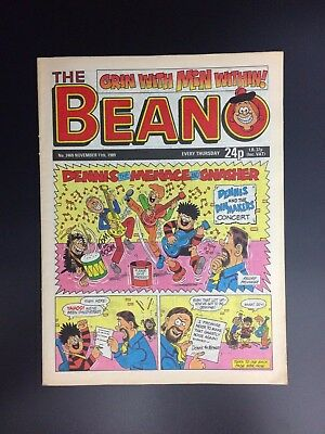 The Beano UK Paper Comic No. 2469 November 11 1989