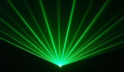 GREEN Disco Laser Light(willi pro) for DJ karaoke club pub mobile dj LAZER PARTY