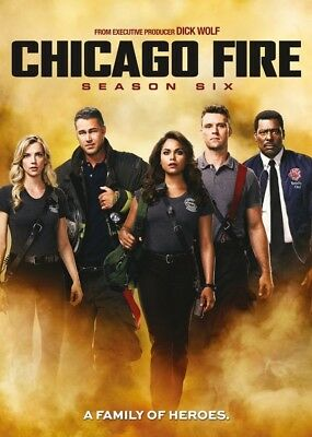Chicago Fire TV Series Season 6 DVD Brand New