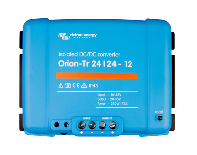 Victron Energy Orion-Tr 24/24-12A (280W) Isolated DC-DC- ORI242428110