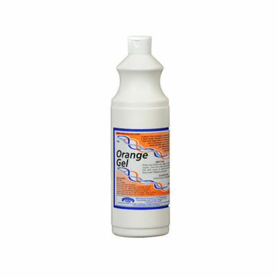 CRAFTEX ORANGE GEL 1L- Carpet Spot Remover,  Citrus Gel 1L x 4 bottles