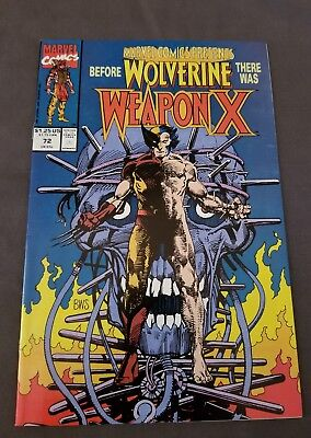 Marvel Comics Presents #72 (Mar 1991, Marvel) 1st appearance of Weapon X