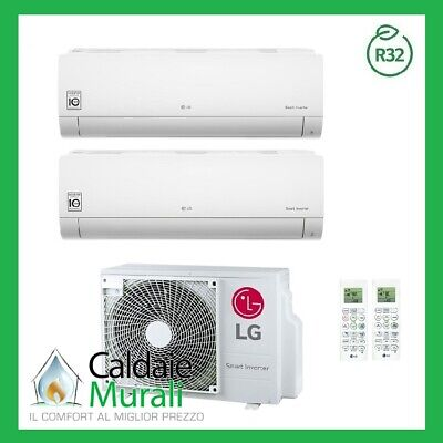 Conditionneur D'Air LG Inverseur Loisirs R-32 9000+ 18000 MU3R19 9 + 18