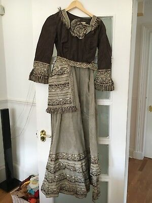 Victorian Style Hand Made Dress Size 10-12