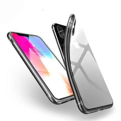 Slim Clear Shockproof Soft Silicone Case Cover For Apple iPhone X XS XR XS Max