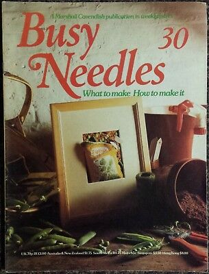 Busy Needles Magazine No.30 What to make, How to make it