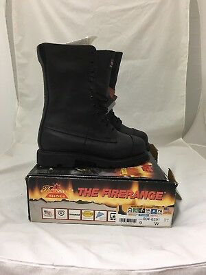 THOROGOOD 10'' Structural Leather Firefighting Boot -- Size 9