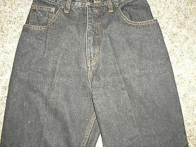 80s VINTAGE DISTRESSED CARROT FIT JEANS 27 INCH WAIST