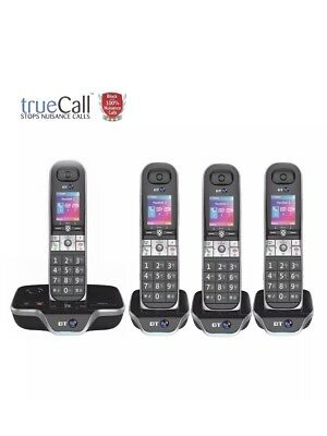 BT 8600 Quad Cordless Phone With Call Blocker and Answering Machine