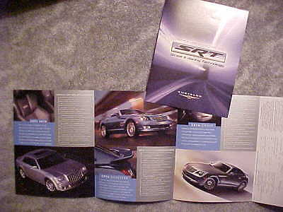 2006 Chrysler 300C SRT8 SRT6 Roadster & Coupe Introductory Sales Folder Canada