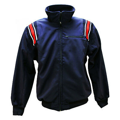 3n2 Cold Strike Baseball/Softball Umpire Jacket - Navy/Red - XXL