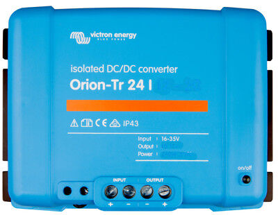 Victron Energy Orion-Tr 24/12-9A (110W) Isolated DC-DC- ORI241210110
