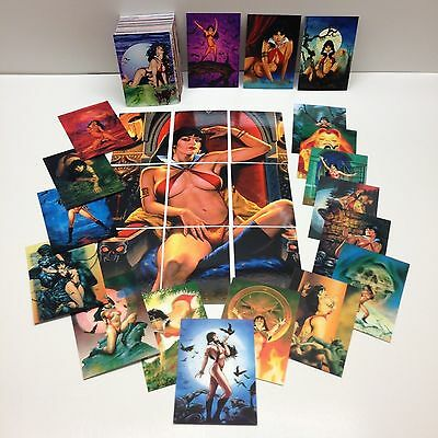 VAMPIRELLA Series 1 (BREYGENT/2011) Complete Base Card Set w/ ALL 27 CHASE CARDS