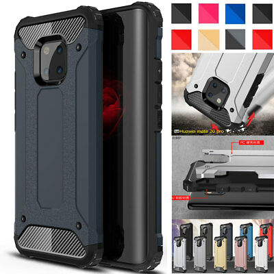 Slim Shockproof Hybrid Armor Had Bumper Case Cover for Hauwei Mate 20 Pro/ Lite